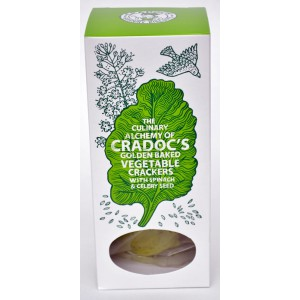 Vegetable Crackers with Spinach & Celery Seed - 6 x 80g