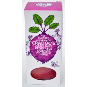 Vegetable Crackers with Beetroot & Garlic - 6 x 80g