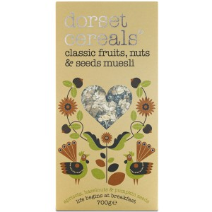 Classic Fruit, Nuts and Seeds Muesli - 5 x 700g