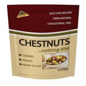 Peeled Roasted Chestnuts - 12 x 200g