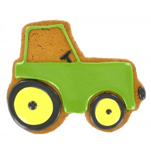 Iced Gingerbread Tractor - 12 x 1s