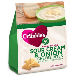 Sour Cream & Onion, gluten free - 6 x 60g