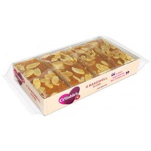 Bakewell Slices  12 wks shelf-life from production - 9 x 1 s