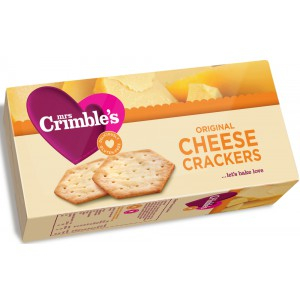 Cheese Crackers, Original - 12 x 130g