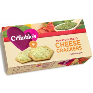 Cheese Crackers, Tomato & Pesto - 12 x 130g