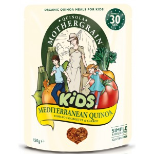 Kids Mediterranean with Tomato, Courgette & Carrot - 8 x 150g