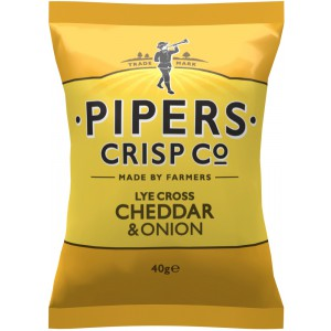 Lye Cross Cheddar & Onion - 24 x 40g