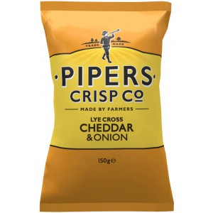 Lye Cross Cheddar & Onion - 15 x 150g