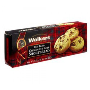 Shortbread Chocolate Chip, Cello Pack - 12 x 175g