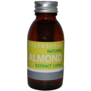 Almond Extract, Natural - 6 x 100ml