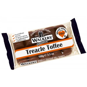 Treacle Toffee, bar - 10 x 100g