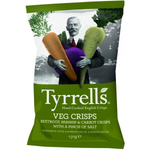 Vegetable Chips - 12 x 150g