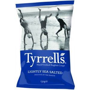 Lightly Sea Salted - 12 x 150g