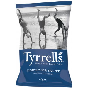Lightly Sea Salted - 24 x 40g