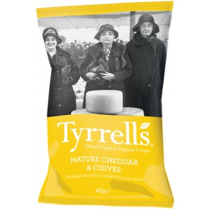 Mature Cheddar & Chives - 24 x 40g