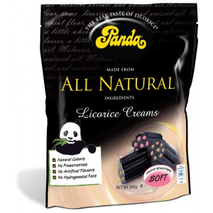 Licorice Creams, bag - 12 x 200g