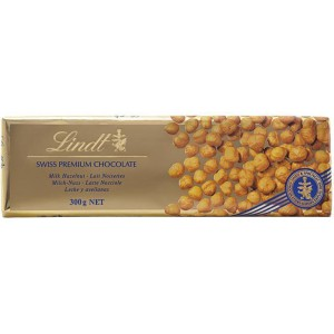 Milk & Hazelnut Gold Bar - 10 x 300g