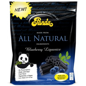 Blueberry Licorice, bag - 12 x 200g
