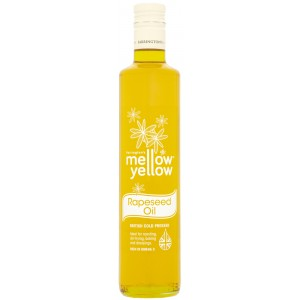 Mellow Yellow Cold Pressed Rapeseed Oil - 6 x 500ml