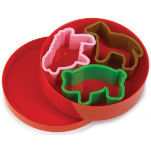 Farm Animals Cookie Cutters - 12 x 1s