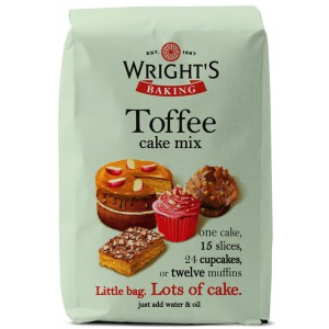 Toffee Cake Mix - 5 x 500g