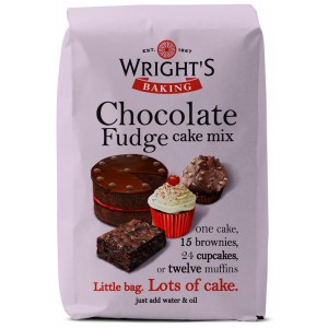 Chocolate Fudge Cake Mix - 5 x 500g