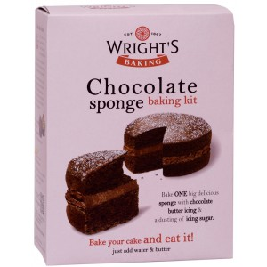Chocolate Sponge Baking Kit - 6 x 450g