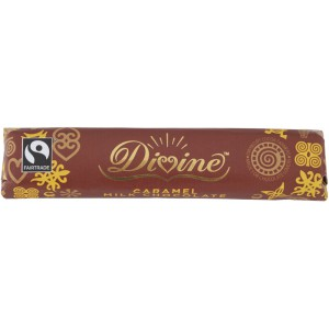 Milk Chocolate Caramel Bar, Fairtrade - 30 x 40g