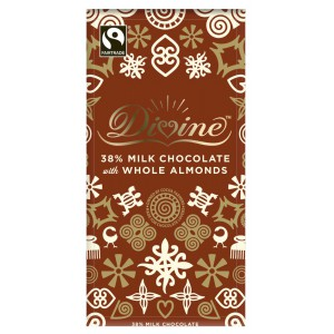 38% Milk Chocolate with Whole Almond Bar - 15 x 100g