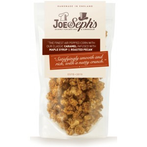 Maple Syrup & Roasted Pecan Popcorn - 12 x 80g