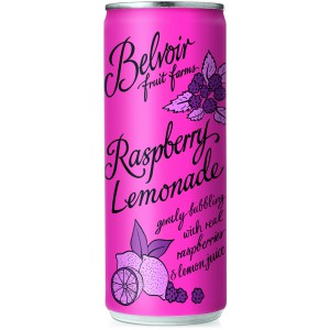 Raspberry Lemonade Cans - 12 x 250ml