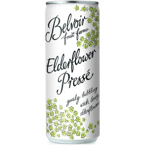 Elderflower Presse Cans - 12 x 250ml