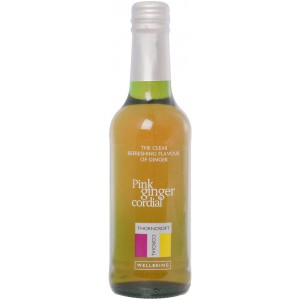 Pink Ginger Cordial - 6 x 330ml