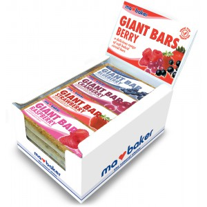 Giant Berry Bars (mixed) - 20 x 90g
