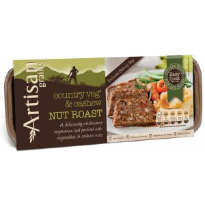 Nut Roast - Country Vegetable & Cashew - 6 x 200g