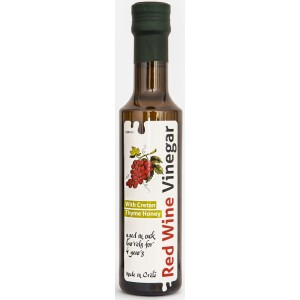 Red Wine Vinegar with Thyme Honey - 6 x 250g