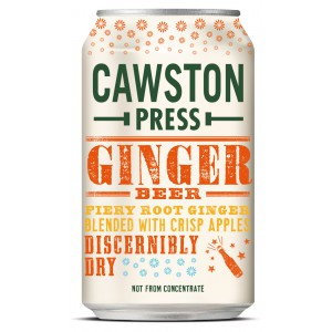 Ginger Beer, can - 24 x 330ml