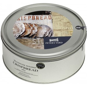 Artisan Swedish Crispbread 9 Large in Tin - 4 x 620g
