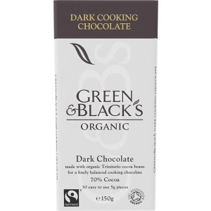 Dark Cooking Chocolate, 70% - 15 x 150g