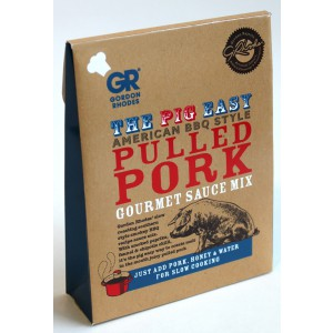 American BBQ Style Pulled Pork Gourmet Sauce Mix - 6 x 75g