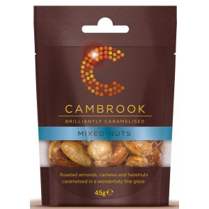 Caramelised Mixed Nuts - 12 x 45g