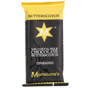 Organic Milk Chocolate with Butterscotch - 26 x 30g