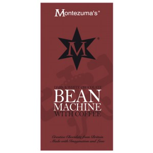 Bean Machine  dark chocolate with coffee - 12 x 100g
