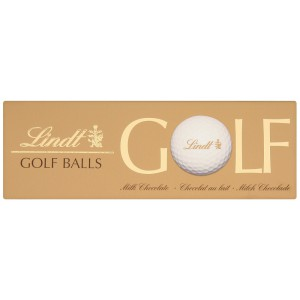 Milk Chocolate Golf Balls - 10 x 110g