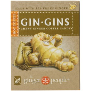 Gin Gins Chewy Ginger Coffee Candy - 24 x 42g