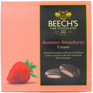 Dark Chocolate Strawberry Creams - 12 x 90g
