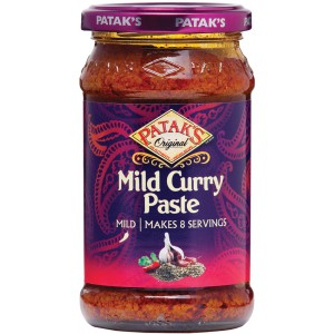 Curry Paste Mild, jar - 6 x 283g