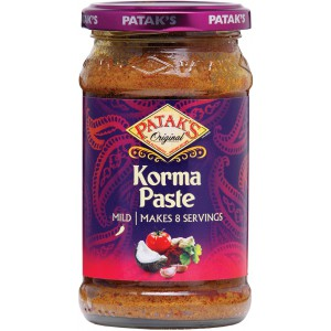 Korma Curry Paste, jar - 6 x 290g