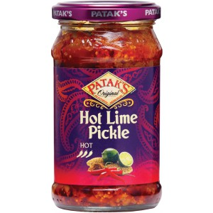 Lime Pickle Hot, jar  - 6 x 283g