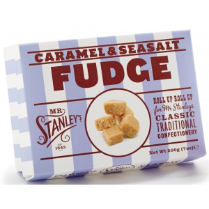 Caramel & Sea Salt Fudge - 12 x 200g